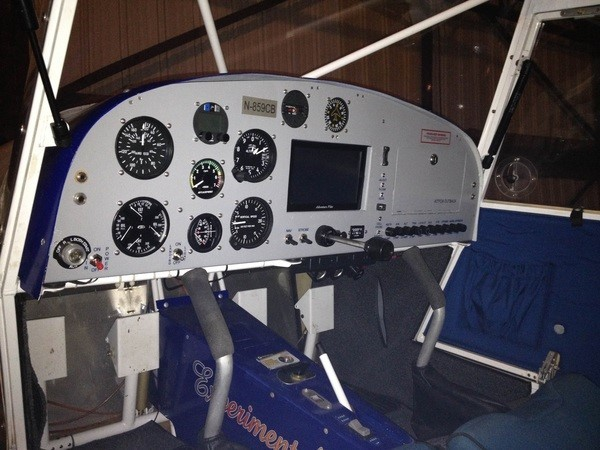 panel mounted IFLY in kitfox - iFly Pictures & Feedback